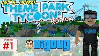 Roblox Theme Park Tycoon 2 : Move over Walt. It's DigDug World