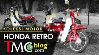 Koleksi Motor Honda Retro by TMC-Blog
