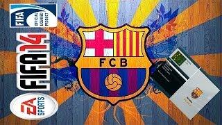 Melhor formação pro Barcelona no FIFA 14
