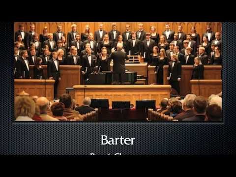 Clausen: Barter (The Hastings College Choir)