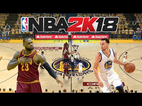 NBA2K18 GAMEPLAY Español |Finales NBA| (PARTIDO 1) Warriors Vs Cleveland