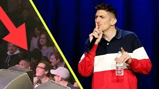 Guy Is Passed Out In 2nd Row Andrew Schulz Stand Up Comedy
