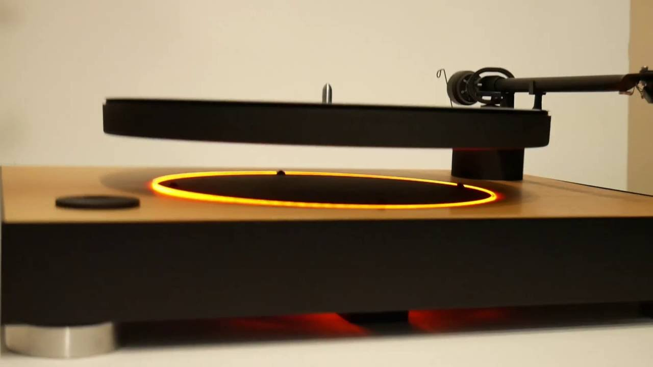 MAG-LEV Audio: World's first levitating turntable