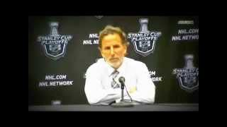 Copie de Another typical John Tortorella press conference Caps   Rangers Game 2 Post Game