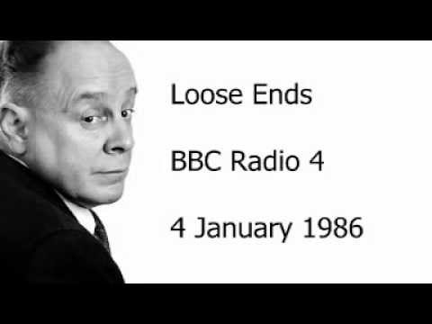 Ned Sherrin - Loose Ends - 4 January 1986