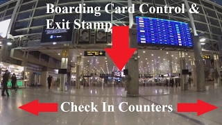Tehran IKA Airport Walk Tour 2017 (HD) GoPro Hero4 Black - Iran