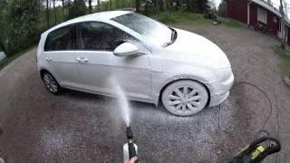 Vw golf VII wash and wax