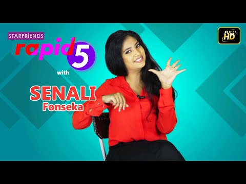 Senali Fonseka with Starfriends Rapid 5
