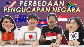 NGAKAK! PERBEDAAN PENGUCAPAN NAMA NEGARA (INDONESIA VS JEPANG VS KOREA VS CHINA)