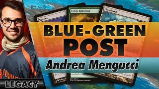 Blue-Green Post - Legacy | Channel Mengucci