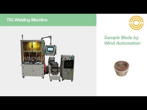 Stator TIG Welding Machine for Hybrid Car Motor