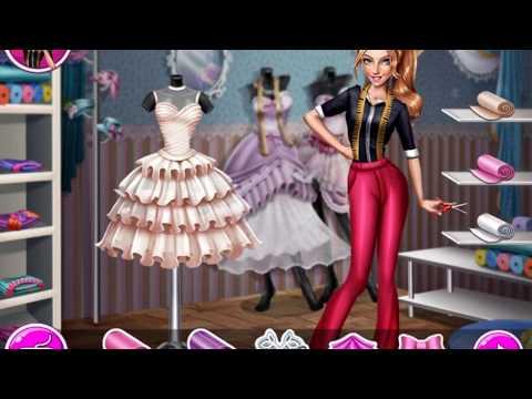 Игра для девочек. Дизайн одежды. Свадебное платье\The game for girls. Fashion design. Wedding dress.