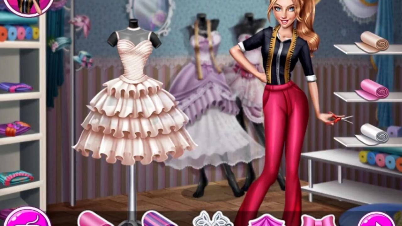 Игра для Девочек. Дизайн Одежды. Свадебное Платье/the Game for Girls. Fashion Design. Wedding Dress.