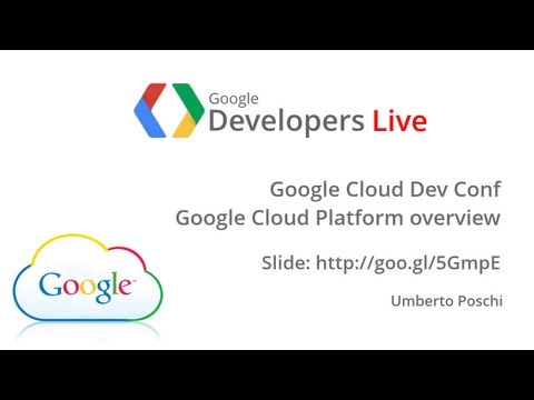 GDL Italia - Google Cloud Platform overview