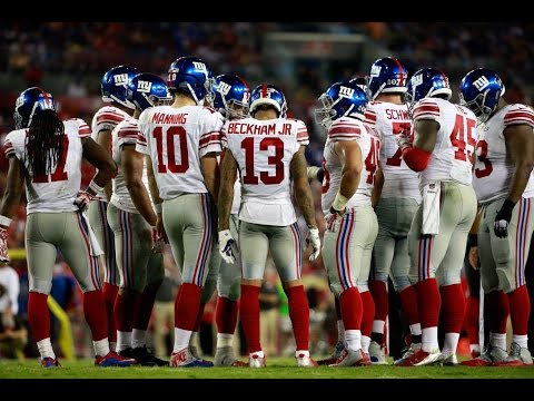 New York Giants Season Highlights 2016 weeks 10-17