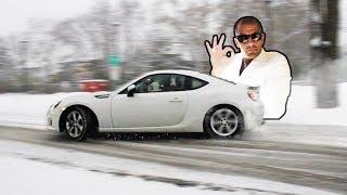Snow Drifting in a BRZ: A /Chris Harris Parody