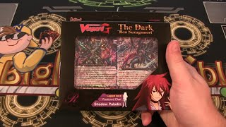 Cardfight Vanguard G Legend Deck 1 The Dark Ren Suzugamori Opening