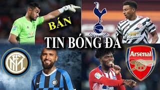 TIN BÓNG ĐÁ - CHUYỂN NHƯỢNG 2020 - 21/09 : MU bán Romero,Tottenham mua Lingard,Inter chiêu mộ Vidal