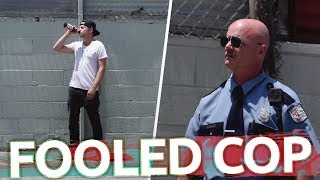 Magic Alcohol & Fooled Cop New Funny Prank YouTube