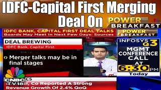 IDFC-Capital First Merging Deal Brewing: Experts React | POWER BREAKFAST | CNBC TV18