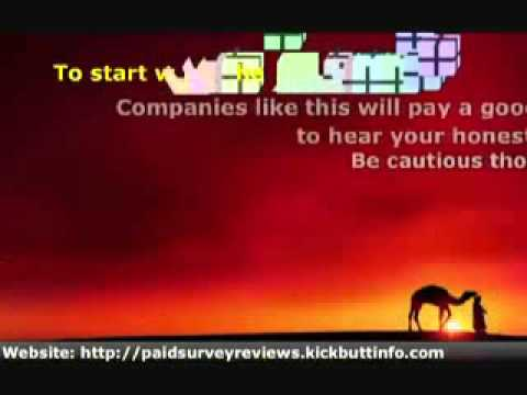 Get Paid For Online Surveys - Earning Extra Income From International Paid Surveys