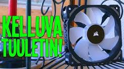 MAGNEETTISESTI LEVITOIVA TUULETIN! - Corsair ML120 PRO RGB | Kiinnostavaa tekniikkaa Osa 2