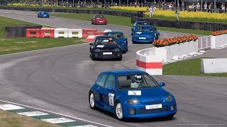 Gran Turismo™SPORT | Daily Race 1243 | Goodwood | Renault Clio V6 24V | Broadcast