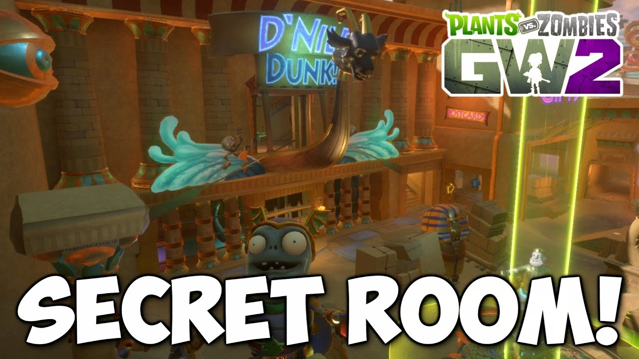 SECRET Zgypt Room on Seeds of Time Map! | Plants vs Zombies: Garden ...