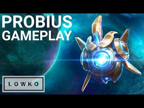 Heroes of the Storm: Probius Gameplay! (Protoss Probe)