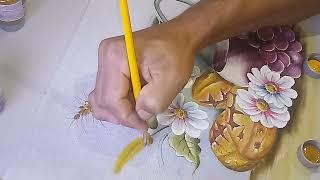 Roberto Ferreira – Pintura em pano de Prato – Final