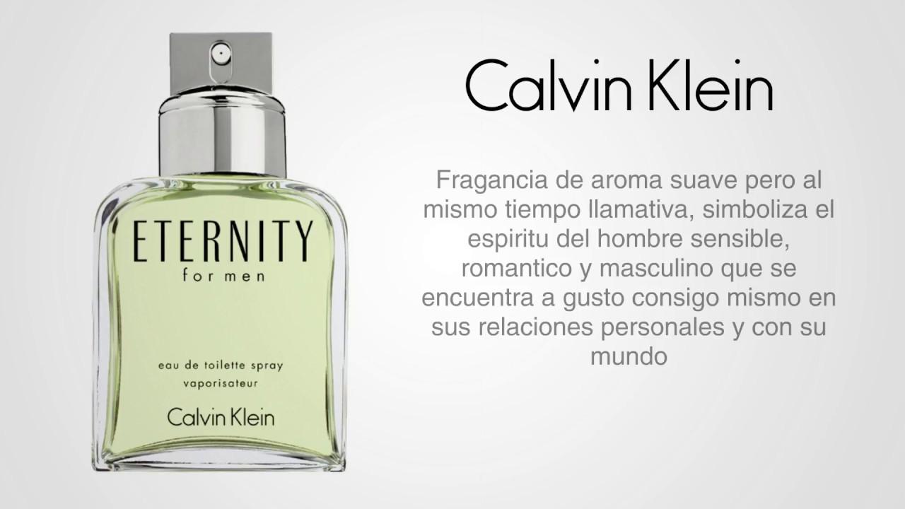 Perfume Eternity Para Hombre De Calvin Klein