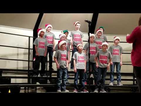 Wester Middle School Boys Choir Christmas Concert