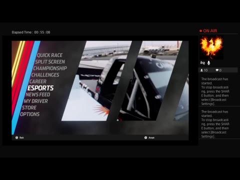 NASCAR HEAT 3- Midnight Auto Racing Series: Pre-Season Shootout at Pocono Raceway (Part 2)