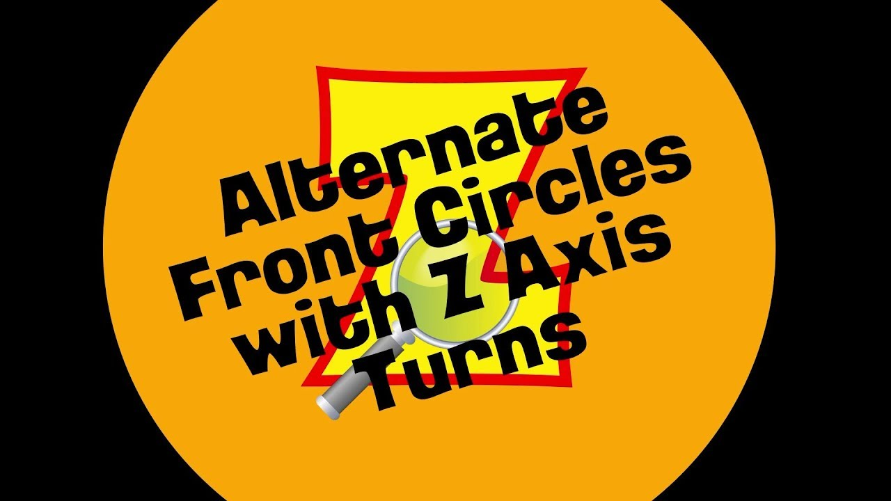 INDIAN CLUBS | Asynchronous Front Circles with Z Axis Turns