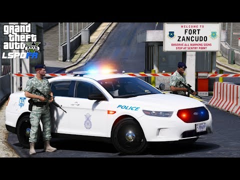 GTA 5 LSPDFR #492 | United States Air Force Security Forces | Military Police | Based Locked Down