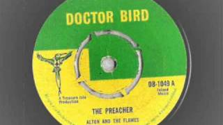 Alton And The Flames - The Preacher - Doctor Bird Records