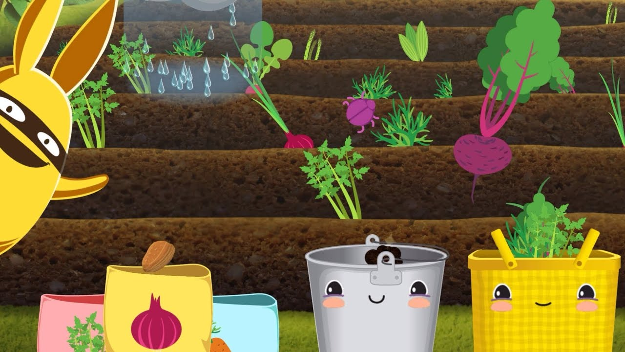 gro garden bio garten spiel app f r kinder youtube. Black Bedroom Furniture Sets. Home Design Ideas