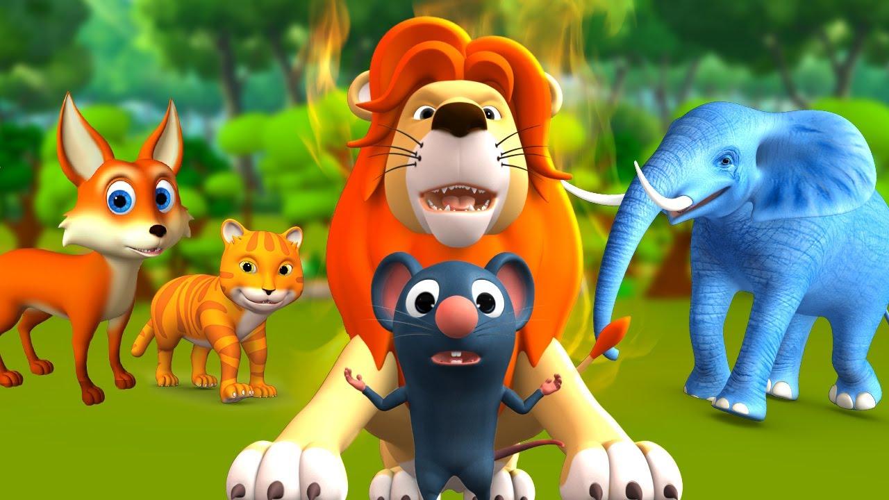 எலி சிங்கமாகிறது - Mouse Turned into Lion Story | 3D Animated Tamil Moral Stories | JOJOTV Tamil