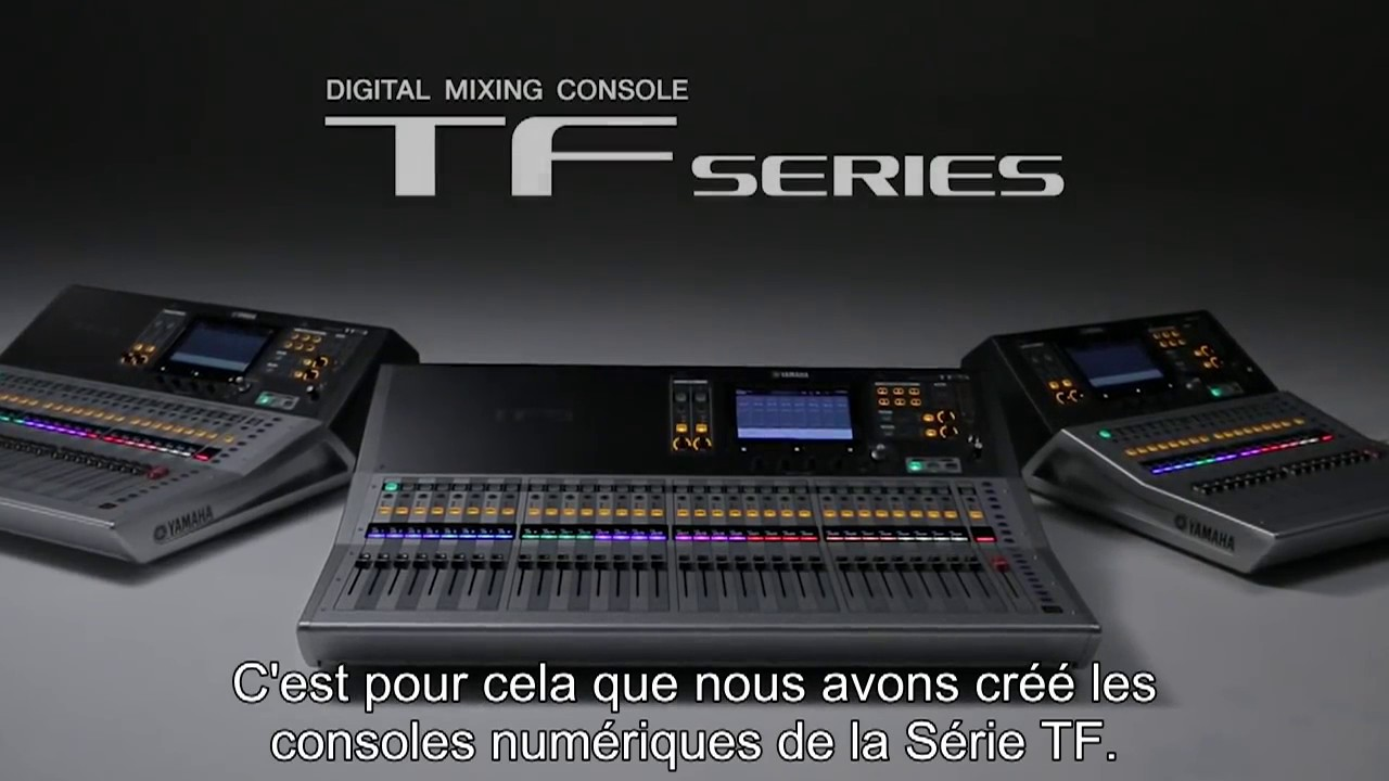 yamaha tf series youtube