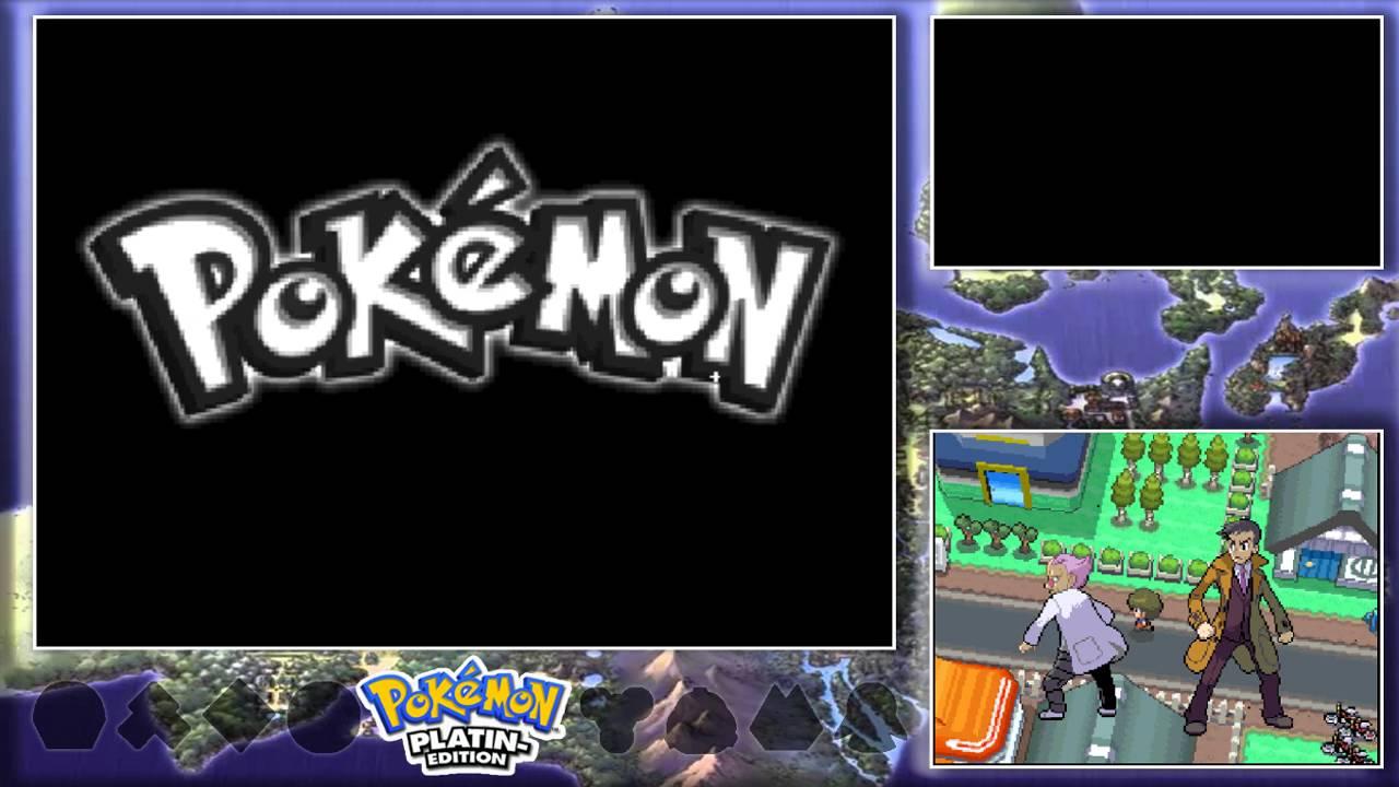 Pokemon Platin Edition Overlay Youtube