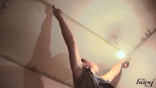 Монтаж потолка Бард(Видео-инструкция по монтажу алюминиевого подвесного реечного потолка Бард., 2013-01-11T08:28:54.000Z)