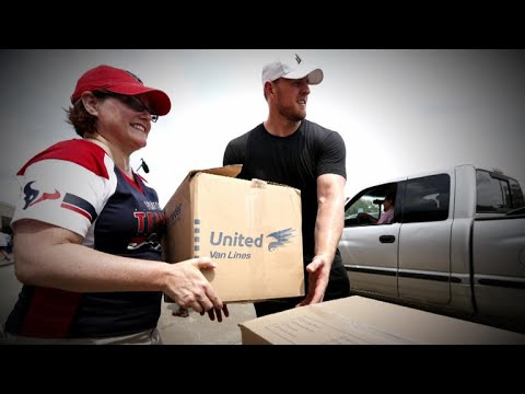 J.J. Watt and the Houston Texans lend a hand to Harvey victims