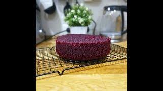 Идеальный бисквит Красный бархат. Всё подробно!!!