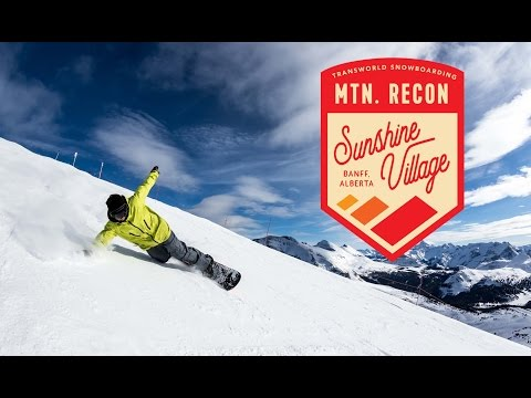 Sunshine Village Resort — Travel Alberta : Mountain Recon Ep. 1 | TransWorld SNOWboarding