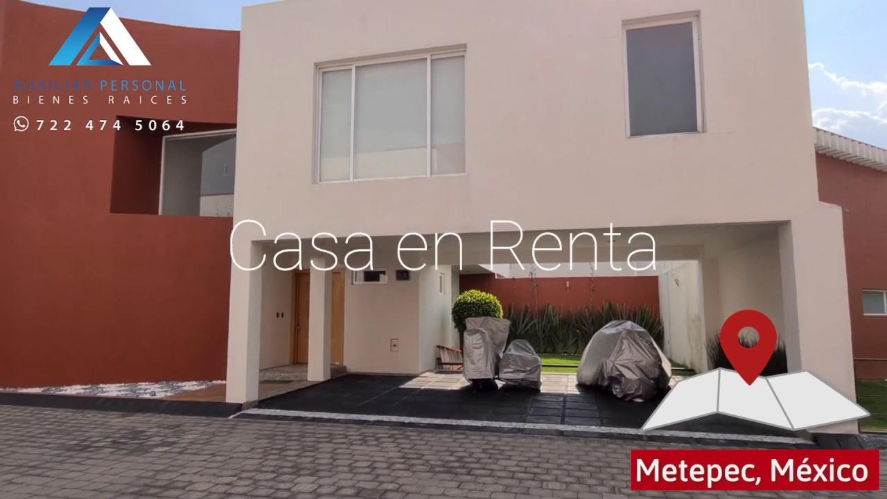 JU01 Casa en Renta en Metepec, Cerca de Galerías y Town Square
