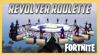 Fortnite Creative Revolver Roulette Madness! Code Inside | Swiftor