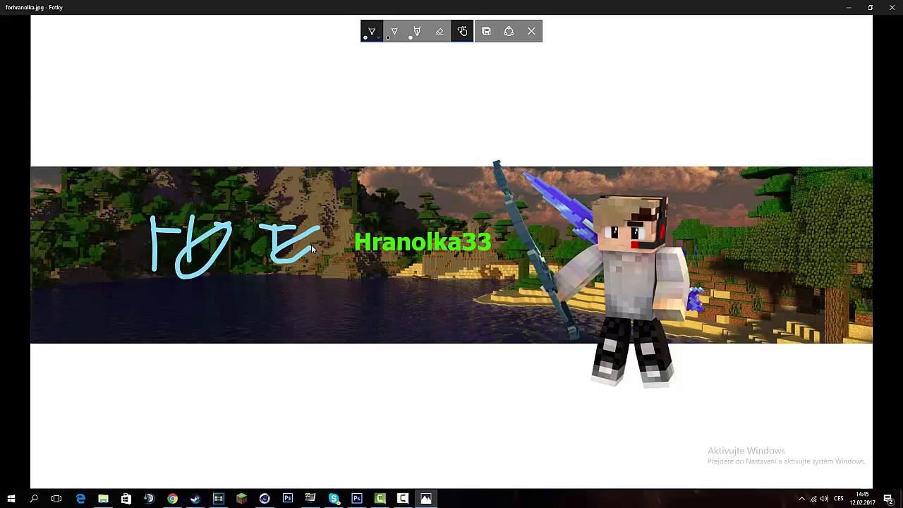 Download dělání banneru pro Hranolku 33