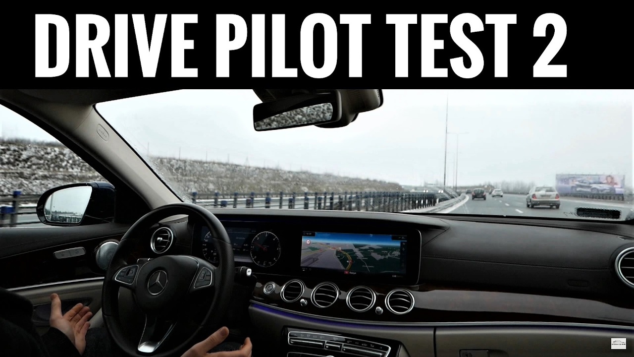 2016 mercedes benz e class w213 drive pilot test 2 for Mercedes benz autopilot