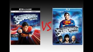 ▶ Comparison of Superman: The Movie 4K Dolby Vision vs Superman: The Movie Blu-Ray Edition