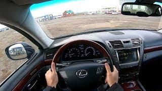 2006 LEXUS LS460 4.6L (381) POV TEST DRIVE